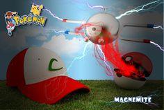 Pokemon magnemite 3d
