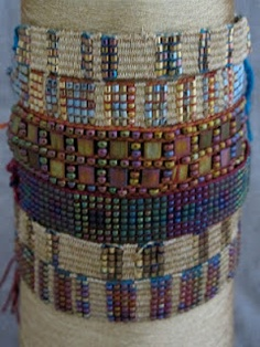 Affinity bracelets from Mirrix Looms
