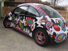 Art Car VW New Beetle