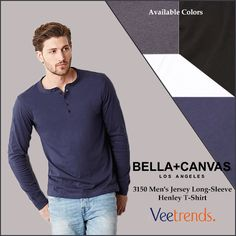 Want to look decent and classy?? Try this Jersey Shirt by Bella+Canvas..  #bellacanvas #shirts #jerseyshirts #shopping #stylish #fashion #trendy