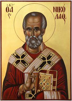 Byzantine Icons, Religious Images, Saint Nicholas, Orthodox Icons, God Is Good, Iron Man, Saints, Prayers, Superhero
