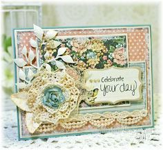 A Ladies' Diary by @Kathy Montgomery. A Celebrate Your Day  #graphic45 #cards