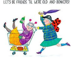 funny old ladies friends - Google Search | Funny ladies ...