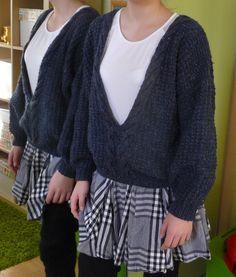 Ręko-czyny: Sweter z warkoczem