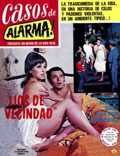 "Comics Mexicanos de Jediskater: Fotonovela Casos de Alarma! No. 94, ""Lios de Vecin..."