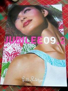 Lilly-Pulitzer-Jubilee-09-2-Folio-Size-Catalog-Lookbook-2009-RARE-NEW