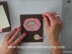 Video - FLASH CARDS by Connie Stewart www.SimplySimpleStamping.com