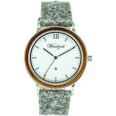 ALPIN Zima s lodénovým remienkom – waidzeit. Watches, Silver, Accessories, Elegant, Wristwatches, Clocks, Money, Jewelry Accessories