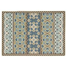 Check out this item at One Kings Lane! Dawson Outdoor Rug, Green