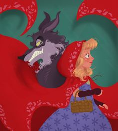 Little Red & The Wolf I'm very excited about this piece, it was done in Corel Painter which was a struggle all it's own. I wanted to go for something very graphic and inspired by paper art. Prints and...