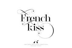 Lingerie Typeface by Moshik Nadav Typography on Behance