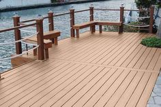 Inteplast DECK is beautiful and ideal for applications that is near the water #deck #waterfront