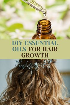 Grow Hair Back, Help Hair Grow, Essential Oils For Pain, Essential Oil Blends, Natural Hair Growth Remedies, Organic Makeup, Organic Beauty, Natural Beauty, Homemade Beauty