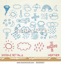 weather doodles