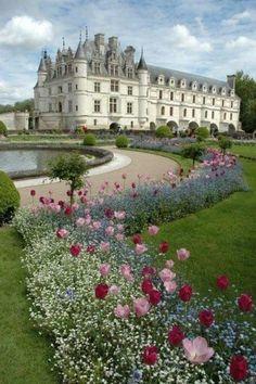 Chateau de Chenonceau ~ France - 1992