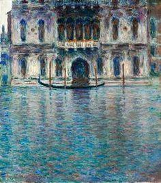Claude Monet - Contarini Palace, Venice-- Impresionismo del S. XIX