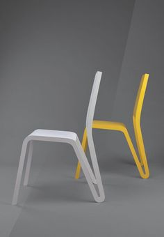 Chair M°1, aluminum, 4 differents colors available, Kind of design 2014 More info at www.kindofdesign.ch/