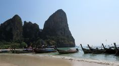 Just Journeys! Railay Beach, Krabi, Thailand