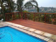Wooden Sundeck installed – Oriel Place, Bluff, Durban