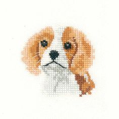 VAT Free Mouseloft Stitchlet Fifi Dog Puppy Small Counted Cross Stitch Kit New