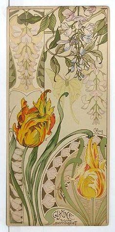 Riom. Etudes de Fleurs. 1890s.