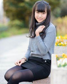 Asian Cute, Cute Asian Girls, Cute Girls, Beautiful Japanese Girl, Beautiful Asian Girls, Girls Fashion Clothes, Girl Fashion, Preety Girls, Pantyhose Outfits