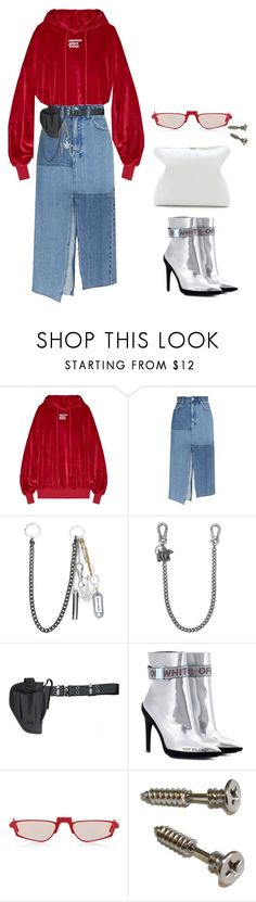"""""""#251"""" by jaehunny ❤ liked on Polyvore featuring Ksubi, Palm Angels, Dsquared2, Holster, Off-White, Andy Wolf, 3.1 Phillip Lim and Hoodies"""