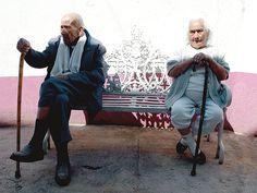 Ancianos, atrapados por la modernidad