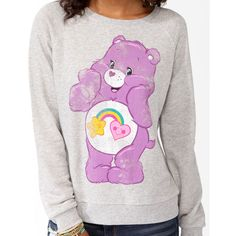 FOREVER 21 Best Friend Bear Pullover ($20) ❤ liked on Polyvore