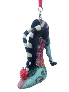 disney shoe ornament sally nightmare before christmas - Shoe Christmas Ornaments