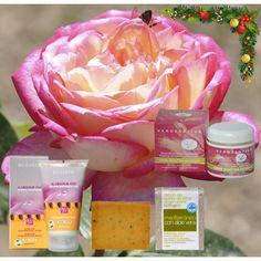 Sugerencia #regalo #Navidad, para el cuidado de la #Piel #Mixta. Crema Facial de Día y Noche Bioactiva + Exfoliante Facial + Jabón Mediterráneo con Aloe Vera. | TeQuieroBio.com