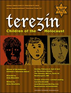 Terezin, Children of the Holocaust• 2009 • poster designed by Tim Hiltabiddle
