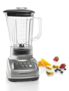 5-Speed Blender Ice Crusher Smoothie Fruit 56 Ounce BPA Free Pitcher Kitchen #KitchenAid