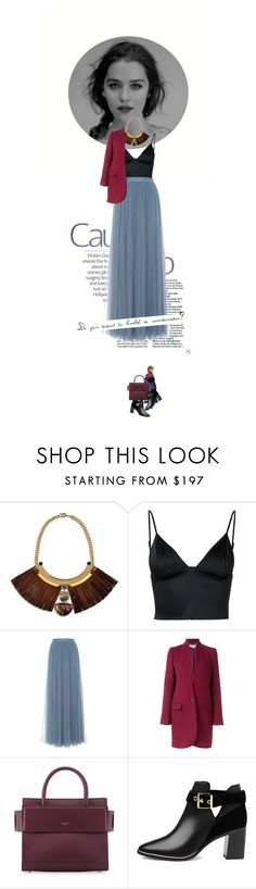 """""""Do you want to build a snowman? Anna"""" by doris-knezevic ❤ liked on Polyvore featuring Natalie Waldman, T By Alexander Wang, Needle & Thread, STELLA McCARTNEY, Disney, Givenchy and Ted Baker"""