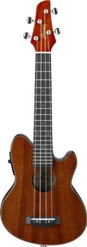 This is my next ukulele. Sweet sounding, electric with built in tuner. Really a beautiful instrument. Cool Ukulele, Bass Ukulele, Ukelele, Uke Tabs, Much Music, Happy Song, Singing Tips, Ibanez, Acoustic Guitar
