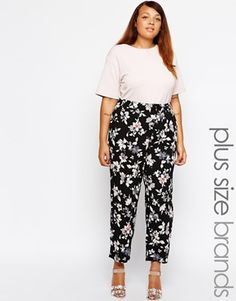 New Look Inspire Floral Pant