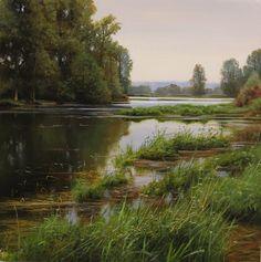 Renato Muccillo Fine Arts Studio - High Waters of Spring- Study