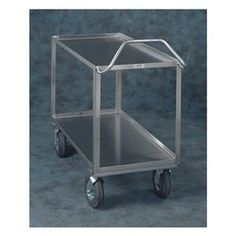 Utility Cart, Ergo Handle, 2 Shelves, 24x48 by Jamco. $855.21. Ergonomic Cart, Load Capacity 1200 lb., Overall Length 48 In., Overall Width 24 In., Overall Height 35 In., Caster Size 5 In, Caster Type 2 Rigid, 2 Swivel with Brake