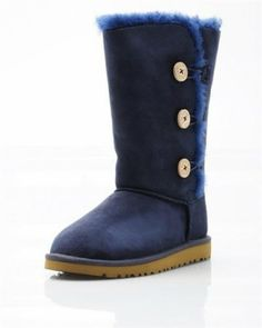 UGG Australia Youth Bailey Button Boots for Girls - Boots - Shoes at Viomart.com