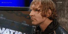 Love seeing how eyes soften when he sees Roman.  Lol