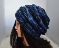 Bee Hive Bubble Hat  Hand Knitted Ripple Hat by HalesBeeHandmade, $20.00