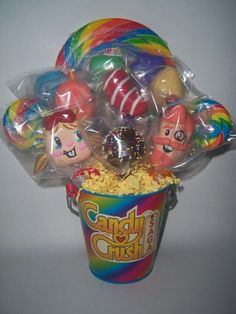 Candy Crush Cake Pops!!