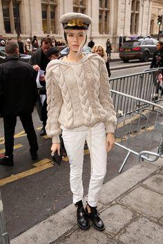 Lena Perminova - Jean Paul Gaultier Haute Couture SS13