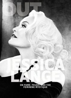 Jessica Lange by Ruven Afandor for Out Magazine April 2017