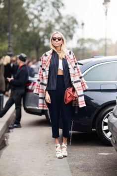 fashionability:  ✮Hege Aurelie Badendyck at PFW in Paris