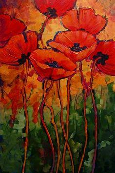 By Carol Nelson. Acrylic on Canvas