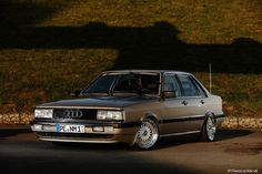Audi 4000 with BBS RS wheels. TOO MUCH TO HANDLE!!! PINTREST NEEDS MORE OLD SCHOOL AUDI!!!