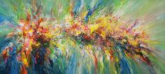 Abstrakt Painting, very large: Colour Symphony XXXL 1, Peter Nottrott