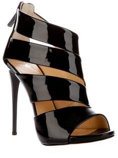 Giuseppe Zanotti - design peep toe sandal
