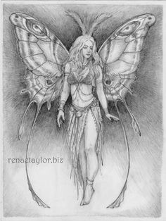 gypsy fairy.......postcard by renae taylor by renaeleataylor, $2.00